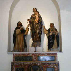 La chiesa della Madonna del Rosario